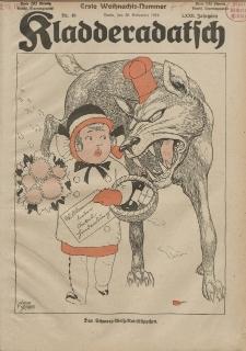 Kladderadatsch, 72. Jahrgang, 30. November 1919, Nr. 48