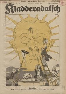 Kladderadatsch, 72. Jahrgang, 7. Dezember 1919, Nr. 49