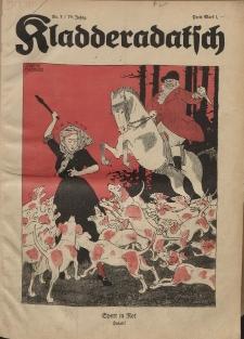 Kladderadatsch, 74. Jahrgang, 16. Januar 1921, Nr. 3