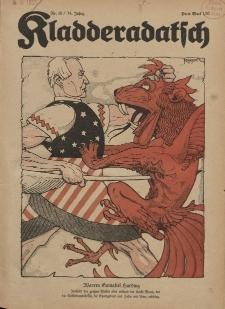 Kladderadatsch, 74. Jahrgang, 1. Mai 1921, Nr. 18