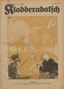 Kladderadatsch, 74. Jahrgang, 14. August 1921, Nr. 33