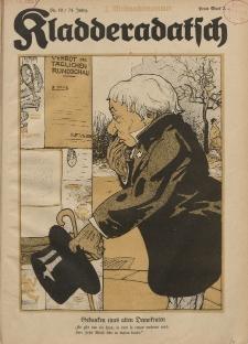 Kladderadatsch, 74. Jahrgang, 11. Dezember 1921, Nr. 50