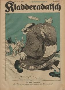 Kladderadatsch, 74. Jahrgang, 18. Dezember 1921, Nr. 51