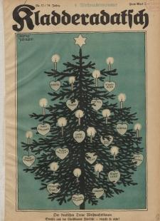 Kladderadatsch, 74. Jahrgang, 25. Dezember 1921, Nr. 52
