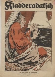 Kladderadatsch, 76. Jahrgang, 7. Januar 1923, Nr. 1