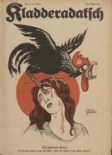 Kladderadatsch, 76. Jahrgang, 21. Januar 1923, Nr. 3