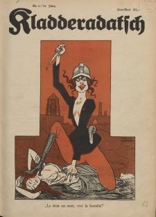 Kladderadatsch, 76. Jahrgang, 28. Januar 1923, Nr. 4