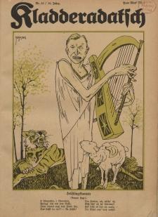 Kladderadatsch, 76. Jahrgang, 13. Mail 1923, Nr. 19