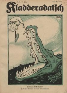 Kladderadatsch, 76. Jahrgang, 3. Juni 1923, Nr. 22
