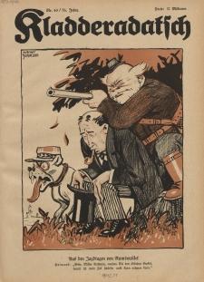 Kladderadatsch, 76. Jahrgang, 7. Oktober 1923, Nr. 40