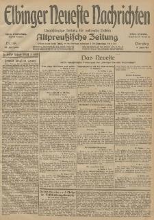 Elbinger Neueste Nachrichten, Nr. 155 Dienstag 9 Juni 1914 66. Jahrgang