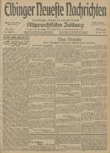 Elbinger Neueste Nachrichten, Nr. 156 Mittwoch 10 Juni 1914 66. Jahrgang