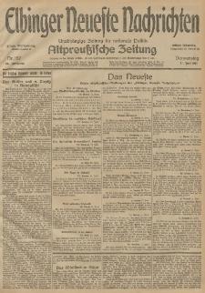 Elbinger Neueste Nachrichten, Nr. 157 Donnerstag 11 Juni 1914 66. Jahrgang