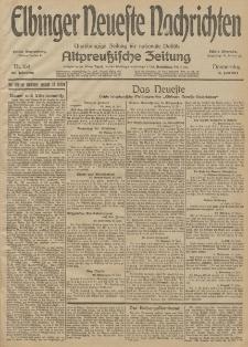 Elbinger Neueste Nachrichten, Nr. 164 Donnerstag 18 Juni 1914 66. Jahrgang