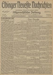 Elbinger Neueste Nachrichten, Nr. 169 Dienstag 23 Juni 1914 66. Jahrgang