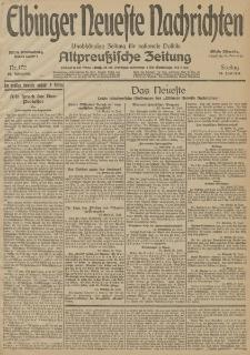 Elbinger Neueste Nachrichten, Nr. 172 Freitag 26 Juni 1914 66. Jahrgang