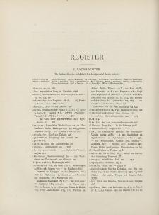 Archäologischer Anzeiger, 1925 (Register)