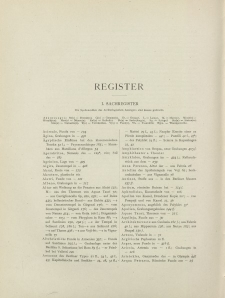 Archäologischer Anzeiger, 1926 (Register)