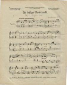 Die heilige Christnacht. Op. 167.