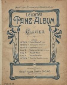 Leichtes Tanz-Album für Clavier
