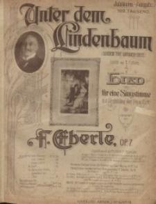 Unter dem Lindenbaum (Dunder the Linden-Tree) : Lied