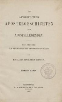 Die Apokryphen...Bd. 1