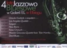 4 lato Jazzowo-Bluesowe w Galerii EL - zaproszenie