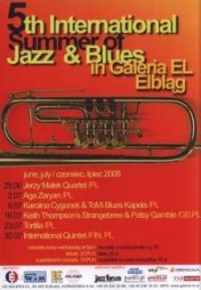 5th International Summer of Jazz & Blues In Galeria El – ulotka