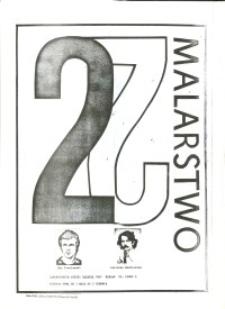 Jarosław Markiewicz i Jan Kowalewski - Wystawa Malarstwa w Laboratorium Sztuki Galeria El w Elblągu - afisz