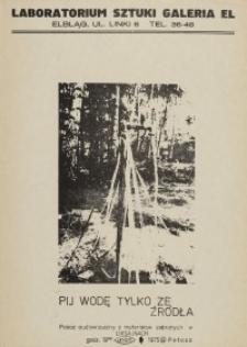 Liksajny 75 - Pij Wodę Tylko ze Źródła, Pokaz Audiowizualny - plakat II