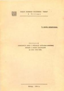 Program humanizacji pracy i adaptacji społeczno-zawodowej... - broszura
