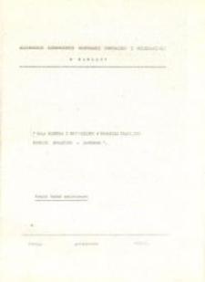 Rola Mistrza i Brygadzisty w Procesie Pracy, Ich Funkcje Społeczno - Zawodowe - broszura w okładce