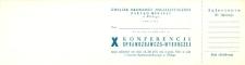 X Konferencja Sprawozdawczo-Wyborcza ZMS - zaproszenie