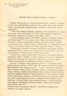 """Okrętowe Układy Napędowe """"Zgoda"""" - """"Zamech"""" - maszynopis"""