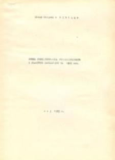 Ocena Funkcjonowania Przedsiębiorstw i Placówek Handlowych za 1982 r. - druk