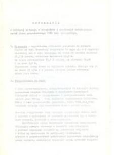Informacja o Bieżącej Sytuacji w Rolnictwie i Realizacji Ważniejszych Zadań Planu Gospodarczego 1975 Województwa Elbląskiego