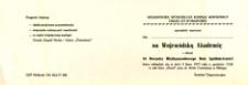Wojewódzka Akademia z Okazji Pięćdziesiątej Piątej Rocznicy Międzynarodowego Dnia Spółdzielczości w 1977 r. - zaproszenie