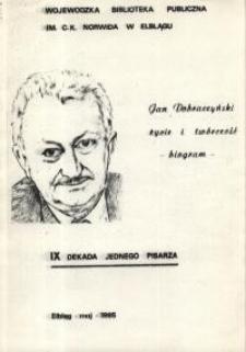 Jan Dobraczyński: życie i twórczość – biogram