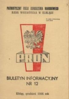 PRON – biuletyn informacyjny Nr 12