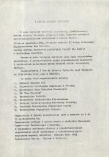 X Dekada Pisarzy Wybrzeża: 1979 r. – program imprez kulturalnych