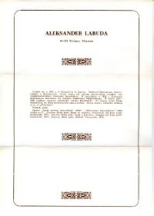X Dekada Pisarzy Wybrzeża: 1979 r.: Aleksander Labuda