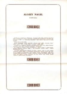 X Dekada Pisarzy Wybrzeża: 1979 r.: Alojzy Nagel