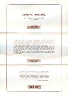 X Dekada Pisarzy Wybrzeża: 1979 r.: Edmund Kosiarz