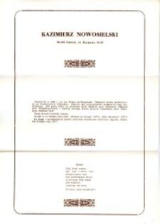 X Dekada Pisarzy Wybrzeża: 1979 r.: Kazimierz Nowosielski