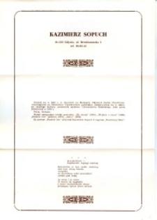 X Dekada Pisarzy Wybrzeża: 1979 r.: Kazimierz Sopuch