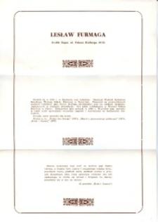 X Dekada Pisarzy Wybrzeża: 1979 r.: Lesław Furmaga