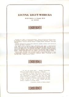 X Dekada Pisarzy Wybrzeża: 1979 r.: Lucyna Legut-Werecka