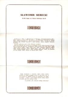 X Dekada Pisarzy Wybrzeża: 1979 r.: Sławomir Sierecki
