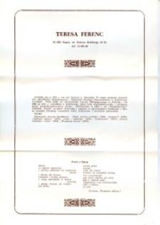 X Dekada Pisarzy Wybrzeża: 1979 r.: Teresa Ferenc