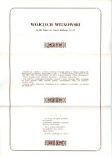 X Dekada Pisarzy Wybrzeża: 1979 r.: Wojciech Witkowski